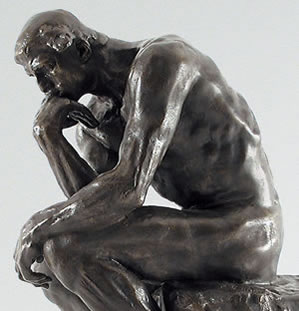 the thinker rodin2 Is Deep Thinking Better Than Meditation?