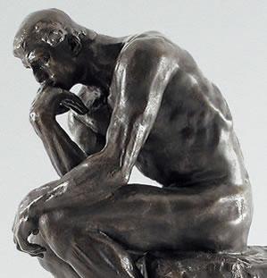 """Rodins """"Tänkaren""""."""